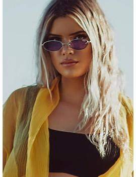 Quay Australia Clout Sunglasses Violet by Quay Australia