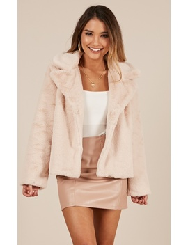 Cold Again Jacket In Blush by Showpo Fashion