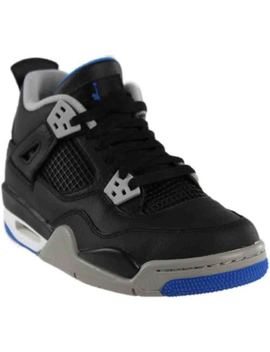 Air Jordan Retro 4 Bg   Black   Mens by Jordan