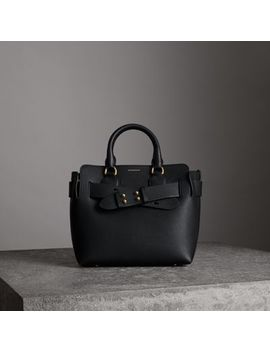 The Small Leather Belt Bag by Burberry