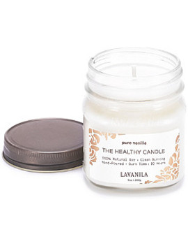 Online Only The Healthy Candle   Pure Vanilla by Lavanila