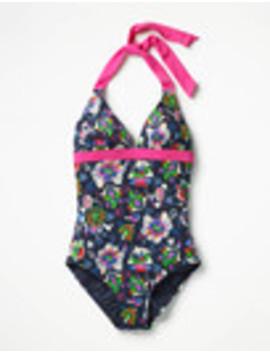 Positano Halter Swimsuit by Boden