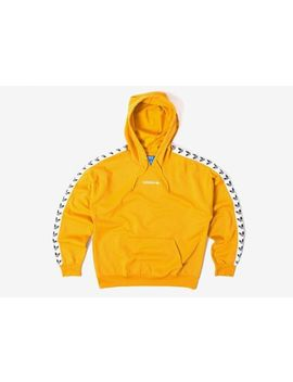 Adidas Originals Trefoil Logo Tnt Tape Yellow Hoodie Bs4669 Three Stripes Brand by Adidas