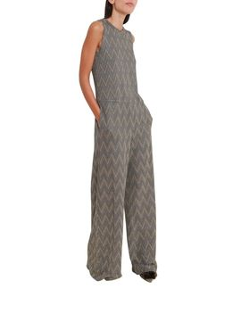 M Missoni Silver Jumpsuit by M Missoni