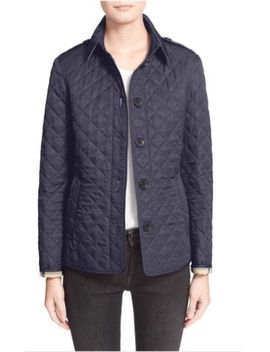 Nwt Burberry Ashurst Quilted Jacket (Xs) by Burberry