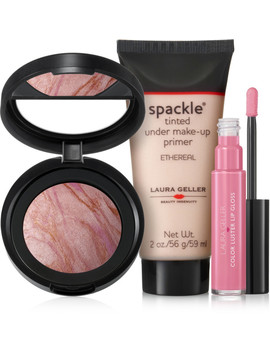Online Only Pink Perfection 3 Pc Kit by Laura Geller