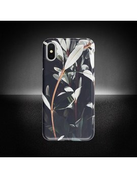 Flower Decor Phone Case, I Phone X Case, Flower Decor Phone Cover, Protective Phone Case, Samsung Note Case, Sturdy Phone Cover by Powered By Nes