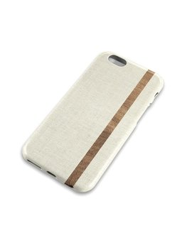 Distressed Light Linen Wood Stripe Phone Case, Cream, Denim Cotton Texture, Wood Grain, Apple Iphone, Samsung Galaxy, Note, Edge, 6 Etc by Mist Printed