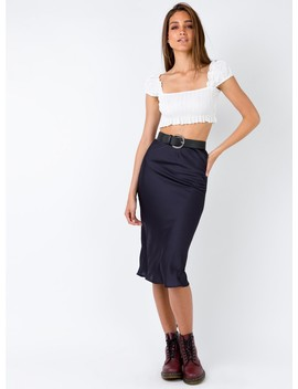 Marcella Midi Skirt by Princess Polly