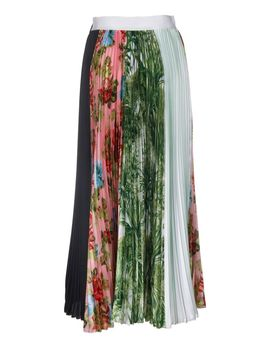 Msgm Floral Pleated Skirt by Msgm