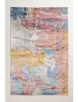 Elimina Silk Rug Swatch by Anthropologie