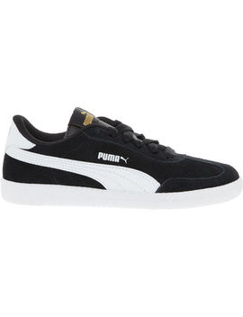 Black Suede Astro Cup Trainers by Puma