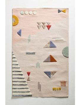 Shape Study Rug Swatch by Anthropologie