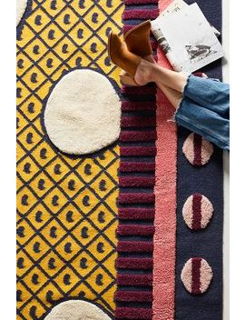 Suno For Anthropologie Big Dot Rug Swatch by Suno For Anthropologie
