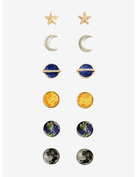 Blackheart Solar System Earring Set by Hot Topic