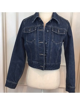 Vintage Tomboy Cropped Jean Jacket by Tomboy