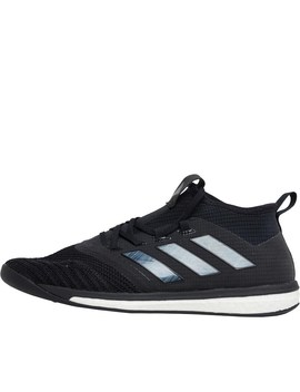Adidas Mens Ace Tango 17.1 Trainers Core Black/Core Black/Core Black by Mand M Direct
