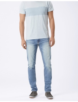 Slim Tapered Jeans Ice Blue by Jeanswest