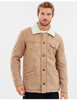 Premier Shearling Coat by Staple Superior