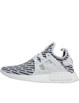 Adidas Originals Mens Nmd Xr1 Primeknit Trainers Footwear White/Footwear White/Core Red by Mand M Direct