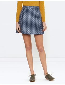 Millicent Check Skirt by Princess Highway