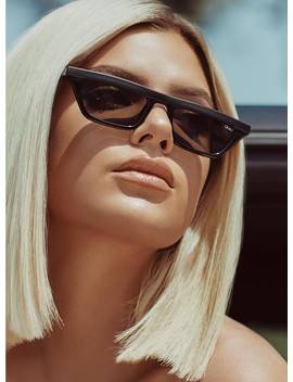 Quay Australia Finesse Sunglasses Black/Smoke by Quay Australia