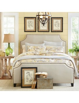 Birch Lane™ Parker Upholstered Panel Bed & Reviews by Birch Lane™
