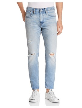 Hi Ball Roller Destroyed Tapered Fit Jeans In Swing Man by Levi's