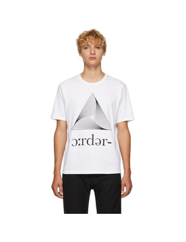 White Kaleidoscope T Shirt by Undercover