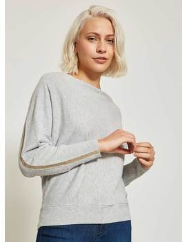 Grey & Champagne Slouchy Knit by Mint Velvet