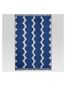 Ikat Dot Cool Outdoor Rug   5'x7'   Project 62™ by Shop Collections