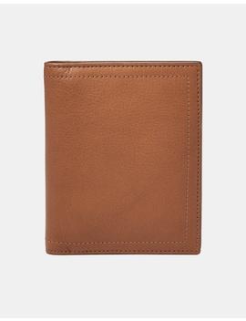 Rfid Passport Case Cognac by Fossil