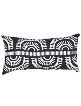Outdoor Throw Pillow Lumbar   Arc Black   Project 62™ by Shop Collections