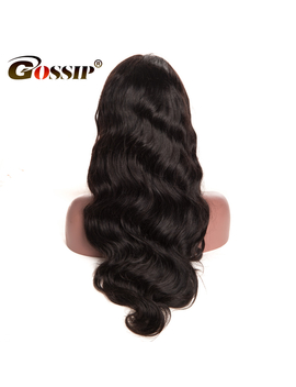 [Gossip Hair]Lace Front Human Hair Wigs For Black Women Indian Hair Body Wave Pre Plucked Lace Front Wig With Baby Hair Non Remy by Gossip