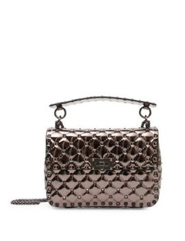 Polymeric Studded Shoulder Bag by Valentino Garavani