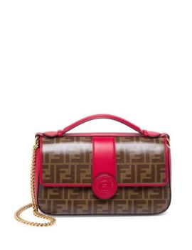 Double F Satchel by Fendi