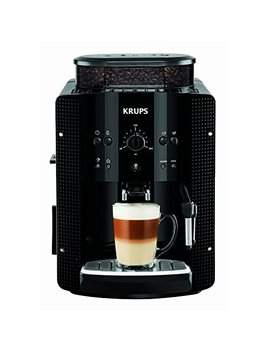 Krups Automatic Coffee Machine 1.8 L 15 Bar, Cappuccino Plus Nozzle) Black by Amazon