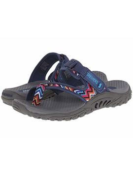 Skechers Women's Reggae Zig Swag Sandals Flip Flop by Skechers