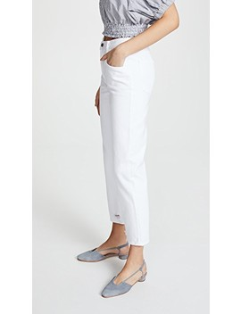 Wynne Cropped Straight Jeans by J Brand