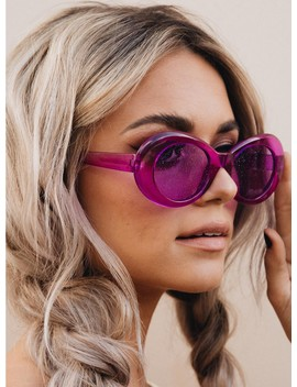 Violet Sorbet Sunglasses by Princess Polly