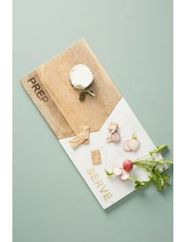 Interlocking Prep + Serve Board by Anthropologie
