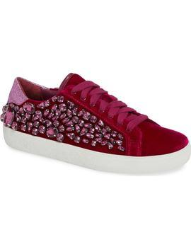 Cammen Embellished Sneaker by Alice + Olivia
