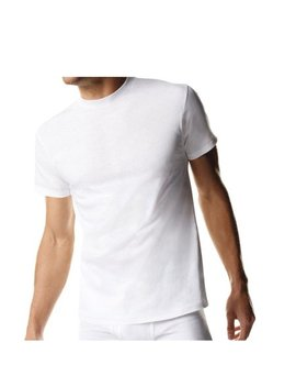 Men's Tall Tagless Crew Undershirt (3 Pack) by Hanes