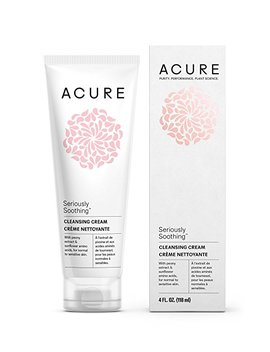 Acure Seriously Soothing Cleansing Cream, Oil Probiotic, 4 Oz by Amazon