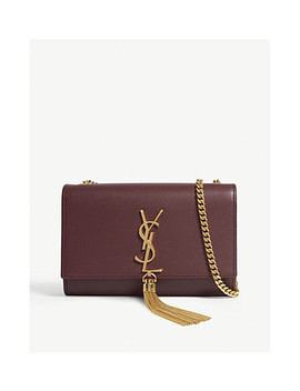 Kate Chain Tassel Small Leather Cross Body Bag by Saint Laurent