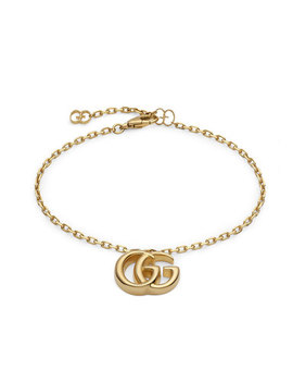 Gucci 18ct Gold Gg Bracelet by Beaverbrooks