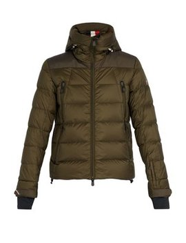 Camurac Quilted Nylon Jacket by Moncler Grenoble