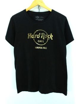 Hard Rock Cafe Women's Crew Neck Tshirt Size Xl Black Shortsleeves Tee Ef1863 by Ebay Seller
