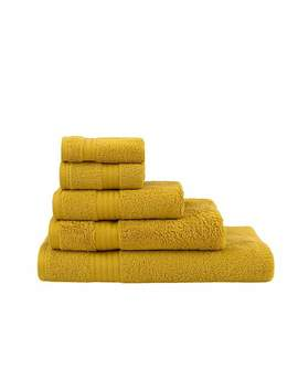 Egyptian Cotton Mustard Towel by Dunelm
