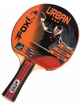 Fox Tt Unisex Urban 3 Star Table Tennis Bat, Red by Amazon